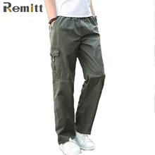 Men Cargo Pants Summer Overall Plus Size XXXL 4XL 5XL 6XL Baggy Army Green Pant For