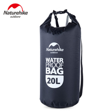 NatureHike New 20L Waterproof Swimming Bags Combo Dry Wet Bag Outdoor Sports Gym Bag For Men Women Drifting Rafting Swimming