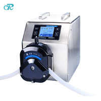 Vegetable glycerin Big Flow filling peristaltic hosing pump