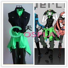 VOCALOID Love & War Megpoid GUMI Cosplay Costume Anime Custom Made Uniform