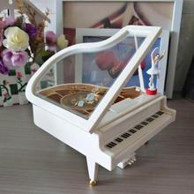 Dancing Girl Music Box Piano Modern Ballerina Girl Music Box Carousel Kids Birthdays Best Gift to girl Friend Wedding Decor 3