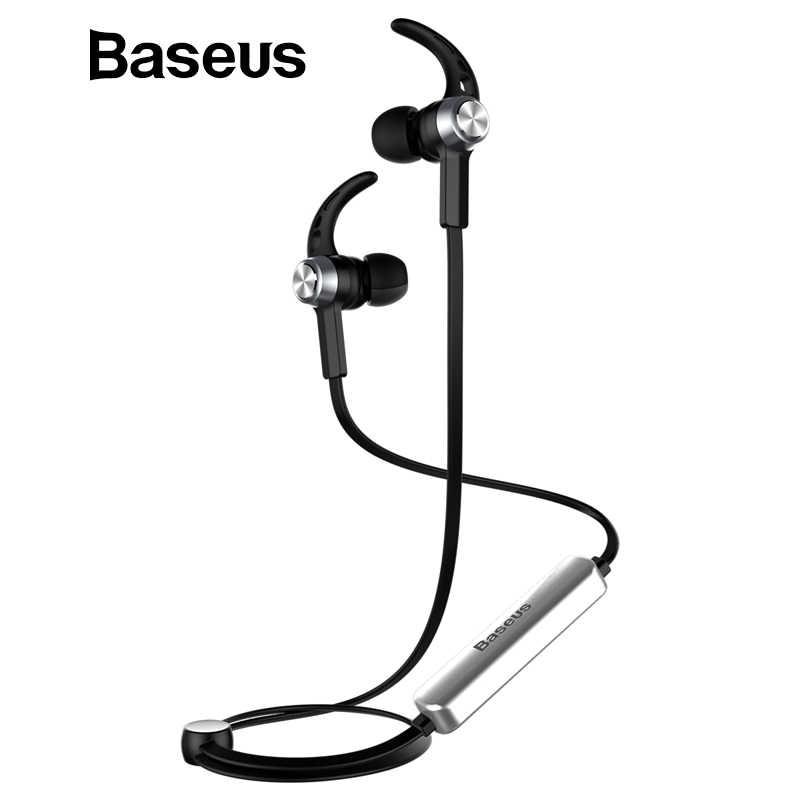 Baseus B11 Беспроводной Bluetooth V4.1 магнит наушники громкой In-Ear с  микрофоном для e63196b457cb0