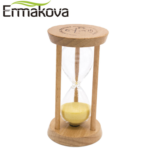 ERMAKOVA 3 Minuti Sand Clock Timer Sand Legno Clessidra Clessidra ...