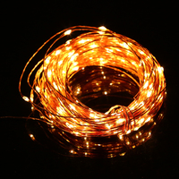 10m 100 LED Copper Wire LED String Light High Brightness Decoration Holiday Lighting Flexible Starry Lights