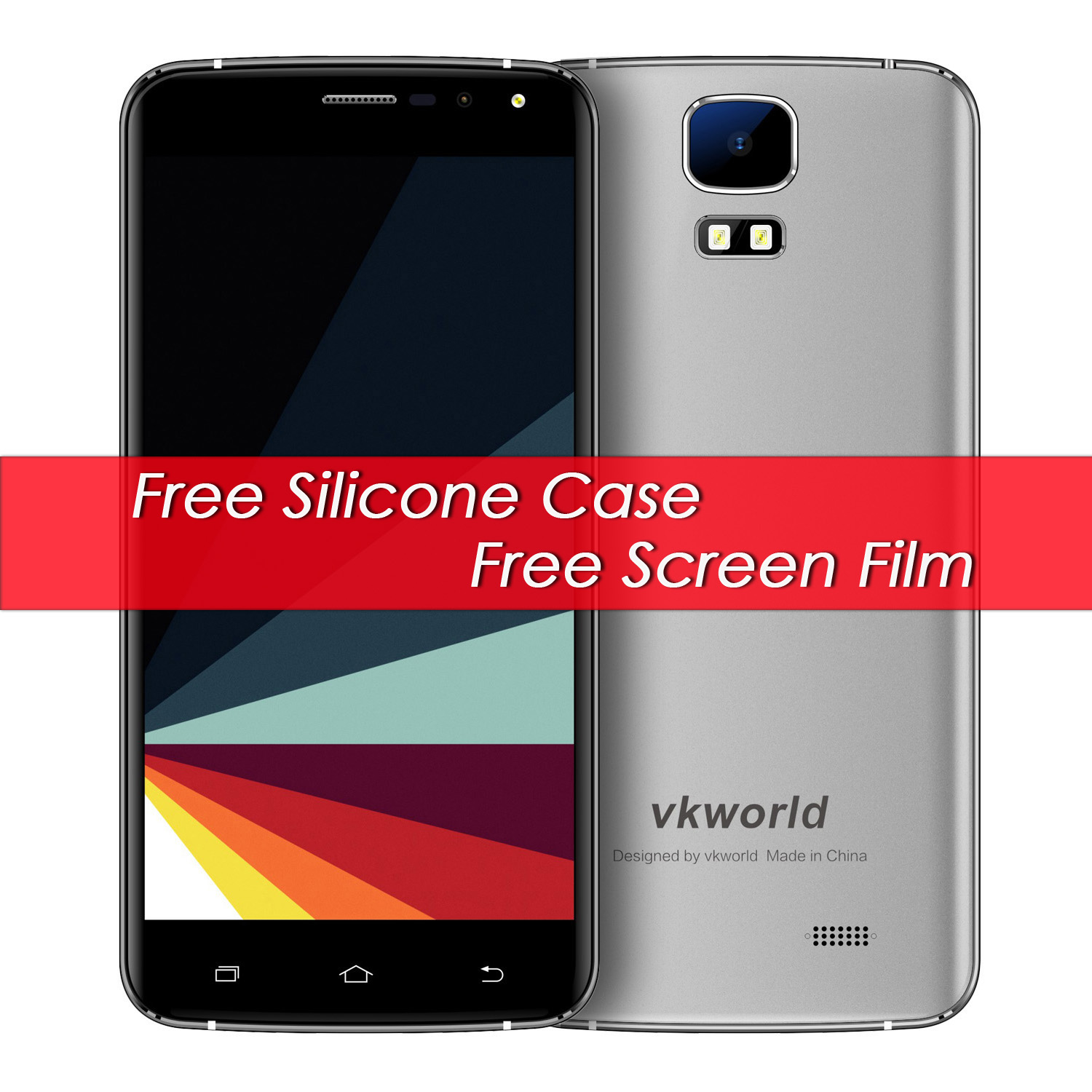 New Vkworld S3 Android 7 0 3G Mobile Phone MTK6580A Quad Core 1 3Ghz 1G RAM