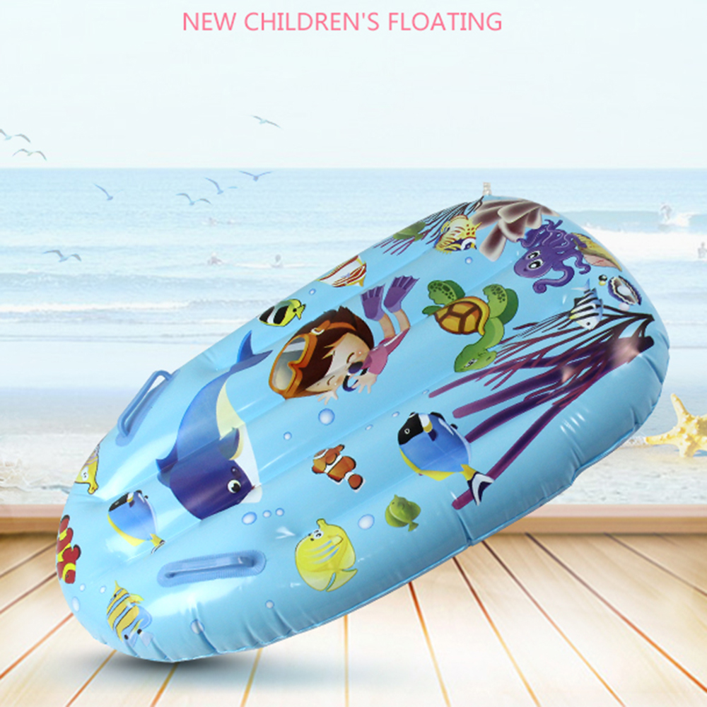 Inflatable Water Toys Children Summer Pool Inflatable Floating Row Board Beach Eco-friendly Swimming Toys Swim Accessories