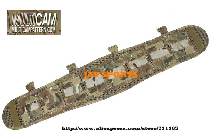 TMC VC Brokos Belt Genuine Multicam MOLLE Battle Belt Pad(SKU12050743) tmc vc style brokos belt genuine multicam padded molle battle belt free shipping sku12050743