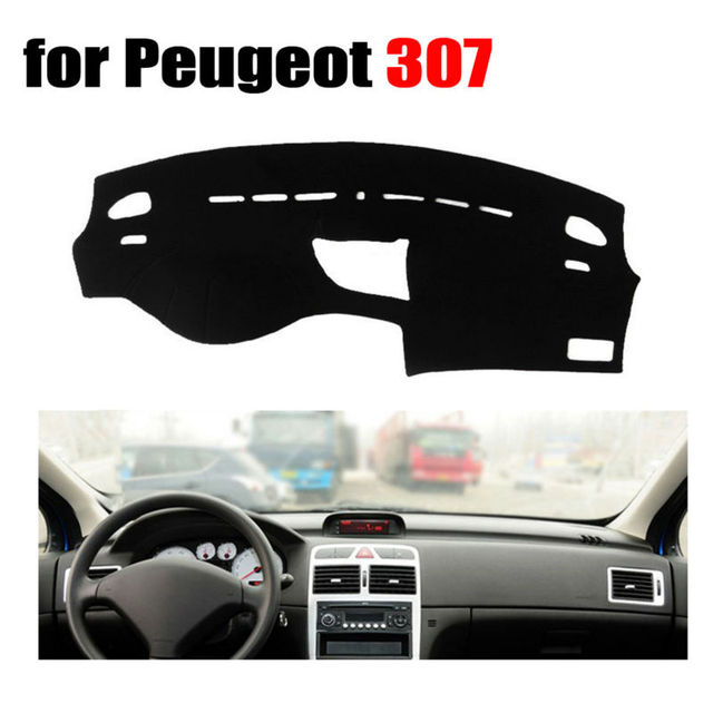 Car dashboard covers mat for Peugeot 307 all the years Left hand ...