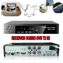 DMYCO Digital Terrestrial Satellite TV Receiver Set Top Box Combo dvb T2 dvb S2 HD 1080P dvb-t2 dvb-s2 Decoder H.264/MPEG-2/4