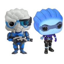 Mass Effect Garrus Action Figure Toys Doll For Baby KIDS Christmas Gift NO Color Box