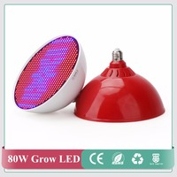 New Hydroponics Lighting AC85 265V 80W E40 E27 RED BLUE SMD 800 LED Hydroponic LED Plant