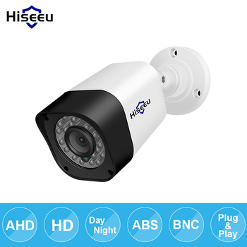 Hiseeu AHD 720 P 1080 P bullet Camera ngoài trời không thấm nước trong nhà IR CUT Tầm Nhìn Ban Đêm HD An Ninh Cam video giám sát Máy Ảnh