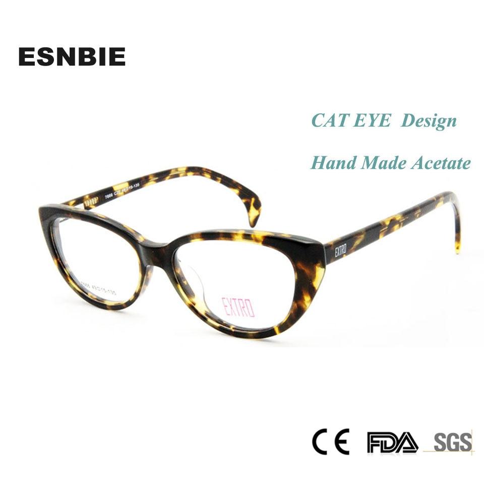 9cf78615df ESNBIE óptica gafas marco mujeres de ojo de gato marcos lente claro gafas  mujer gafas de montura de lentes mujer