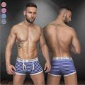 4 colors sexy gibs new disign underwear men cueca for male breathable Elastic boxers shorts men ST508