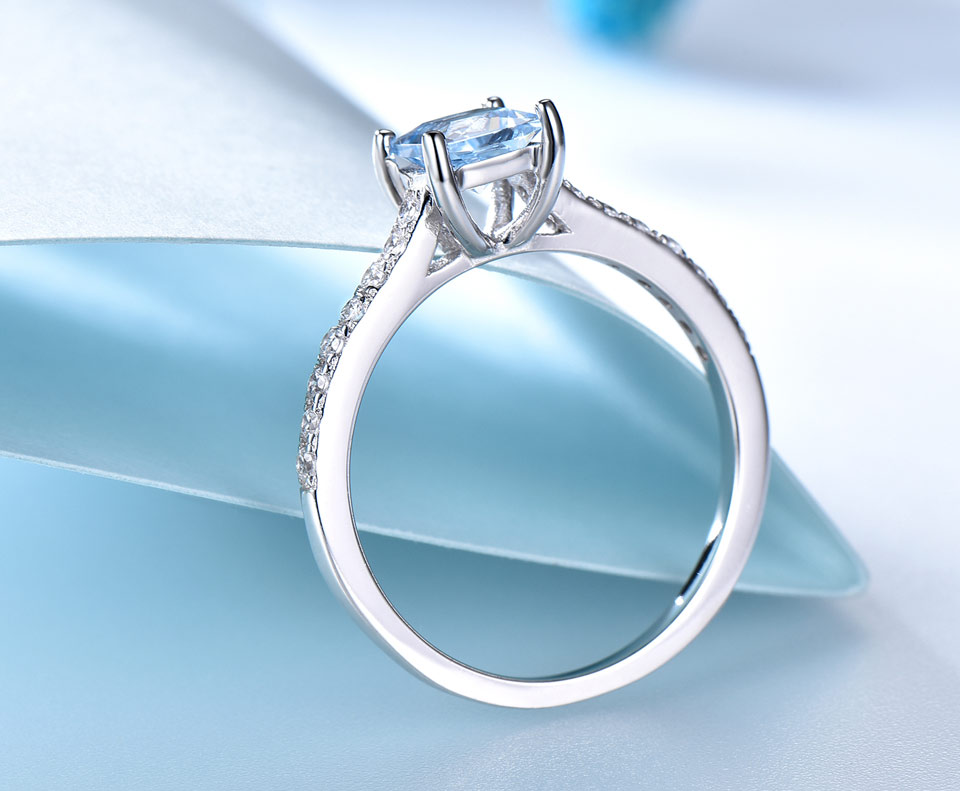 HTB1KDpktDXYBeNkHFrdq6AiuVXaU UMCHO Sky Blue Topaz Rings for Women Real Solid 925 Sterling Silver Korean Gemstone Ring Birthstone Girl Gift Wholesale Jewelry