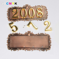 Metal door sign,90*180mm, house sign,top grade signs. can change the four digitals as you need!