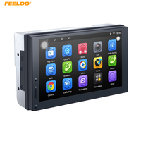 FEELDO 1024 600 Android 6 0 Quad Core 7inch Ultra Slim Car Media Player With GPS