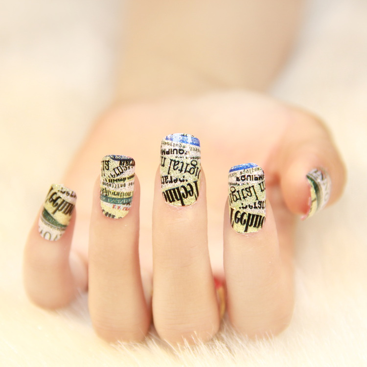 New fashion of nail art best nail ideas 1 new 8 designs 2016 fashion nails art stickers diy prinsesfo Images