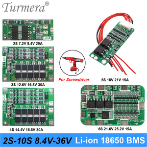 2S 3S 4S 5S 6S 10S Li-ion Lithium Battery 18650 Charger PCB BMS Protection Board For screwdriver battery Lipo Cell Module(China)