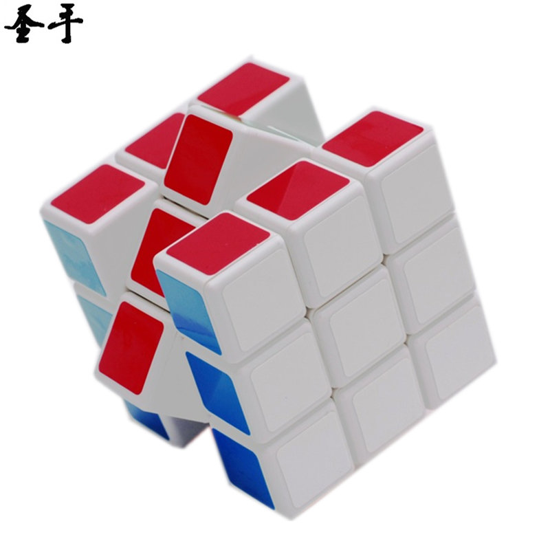 Rubix Rubic Cube 3x3x3 Speed 57 MM Magic Cube 3*3*3 on 3 Layers Cube Toy for Children Professional Neo Cubo Megico ShengShou цена