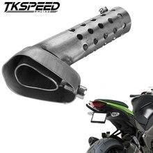 Универсальный глушитель выхлопной трубы мотоцикла регулируемый дБ убийца глушитель для Akrapovic KTM Ducati 42 мм 45 мм 48 мм