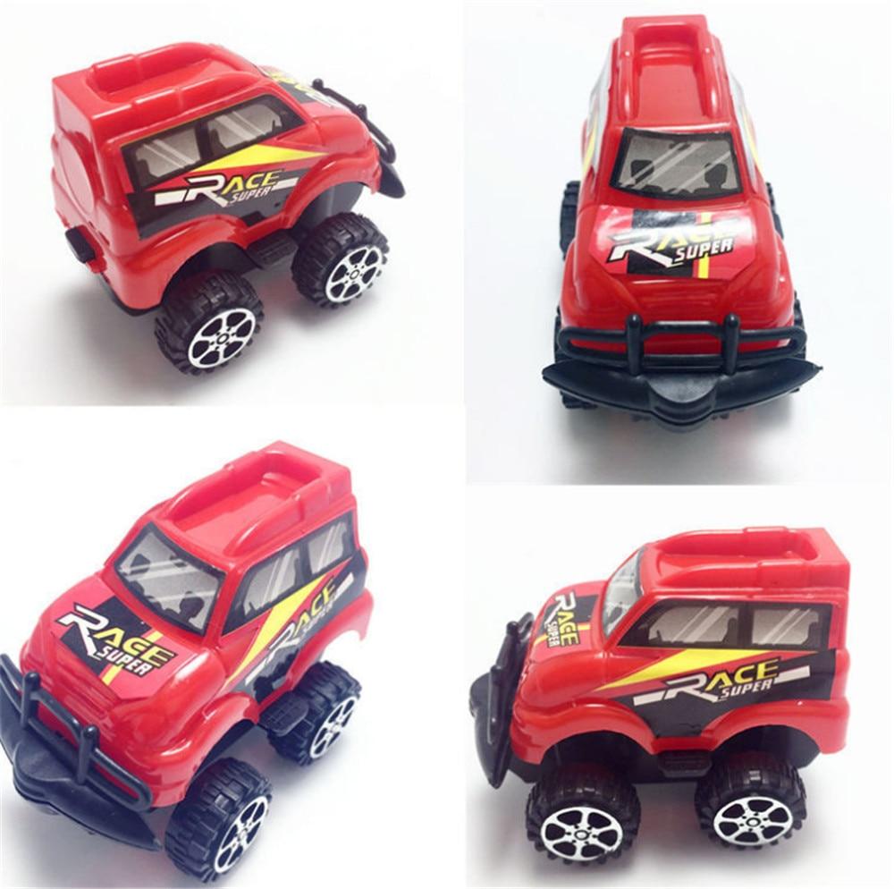 Ehrgeizig Taoqueen 4 Stil Nette Kunststoff Pull Back Autos Spielzeug Autos Für Kind Räder Mini Auto Modell Lustige Kinder Spielzeug Zufall Lieferung Rot