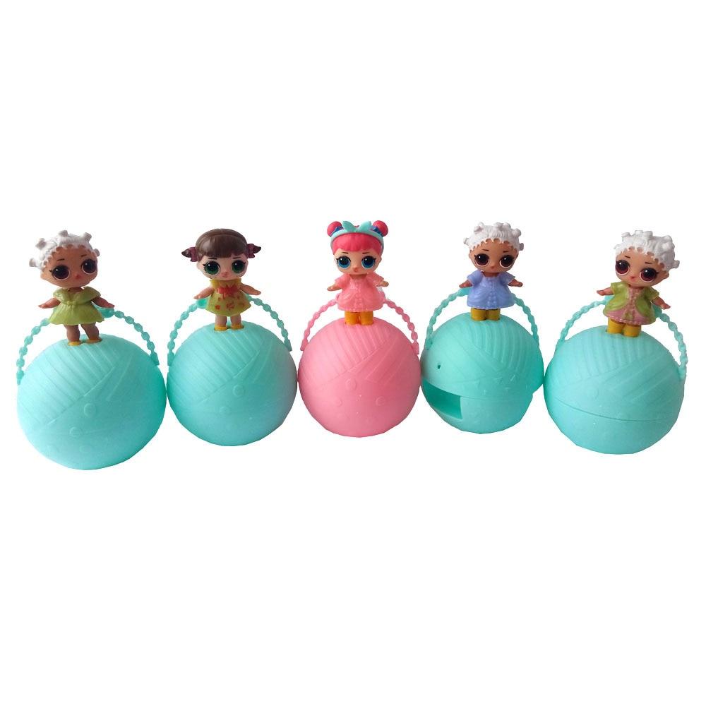 1pcs Random lol surprise Doll Series 1&2 Egg Ball Cute Dress Change surprise Dolls lol Figure Toys for Girl Christmas Gift lol surprise doll boneca funny dolls toys for children girl gift series 1