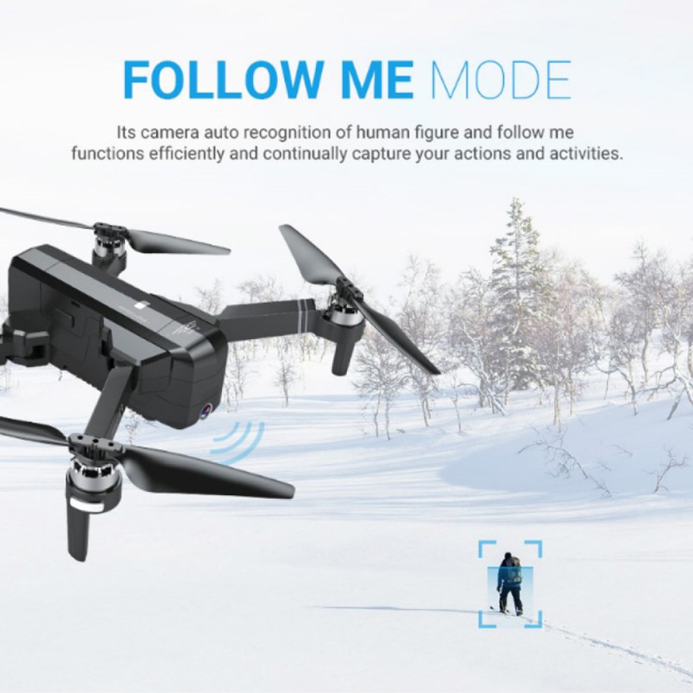 SJRC F11 GPS Drone With Wifi FPV 1080P Camera Brushless Quadcopter 25mins Flight Time Gesture Control Foldable Dron Vs CG033 2