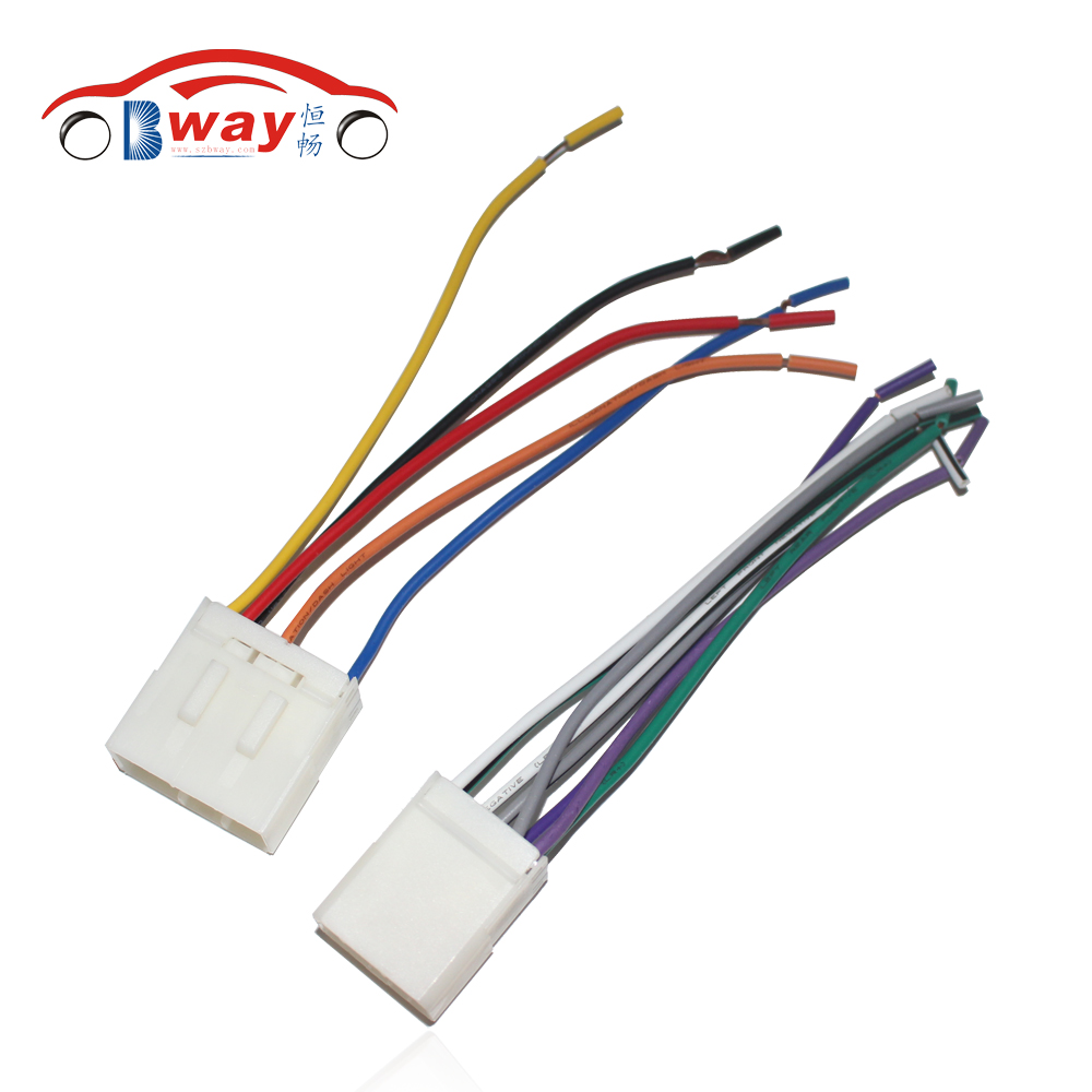 Cone Wire Harness Wiring Schematic Airline Library Board Car Stereo Female Iso Radio Plug Power Adapter