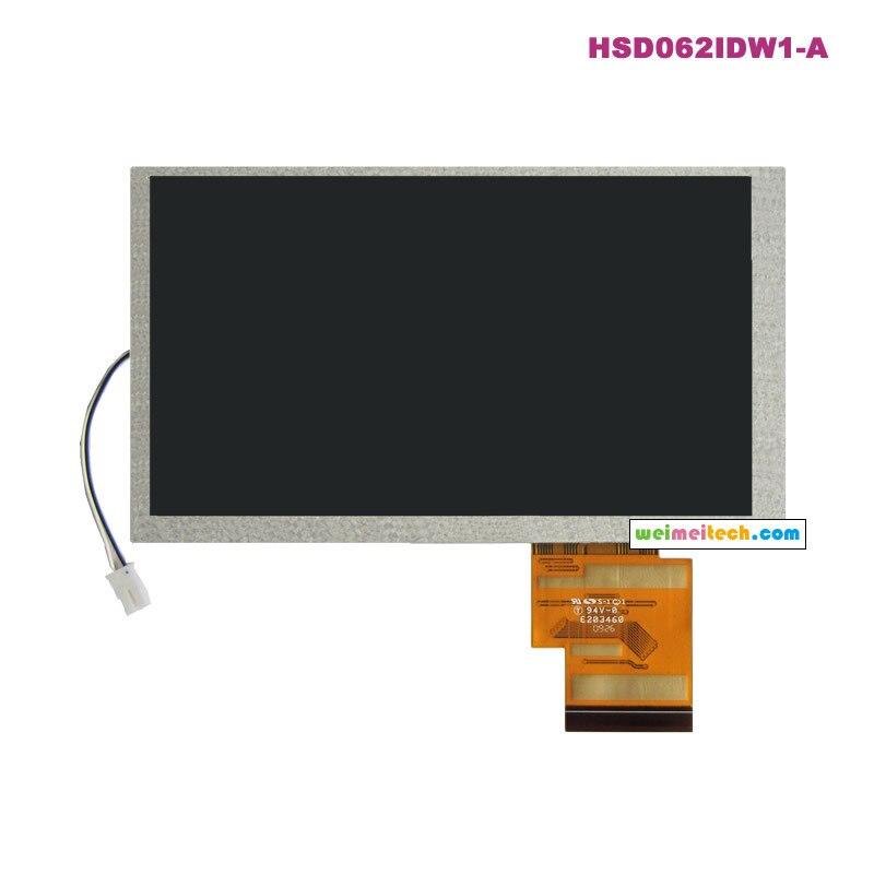 HannStar original 6.2 inch LCD digital screen HSD062IDW1-A00 A01 A02 industrial display lcd screennew original 15 inch a perfect screen ltm150xi a01