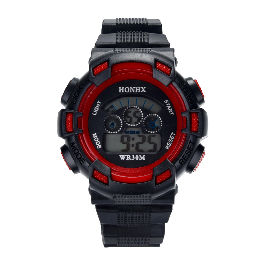 #5001waterproof Children Boys Digital Led Sports Watch Kids Alarm Date Watch Gift Dropshipping New Arrival Freeshipping Hot Sale Children's Watches