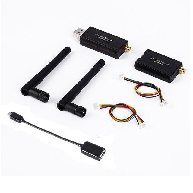 3DR 100 de 500 MW telemetría Radio, 433 Mhz, 915 Mhz, tierra y aire, datos transmitir módulo APM de vuelo Pixhawk control FPV tamaño compacto