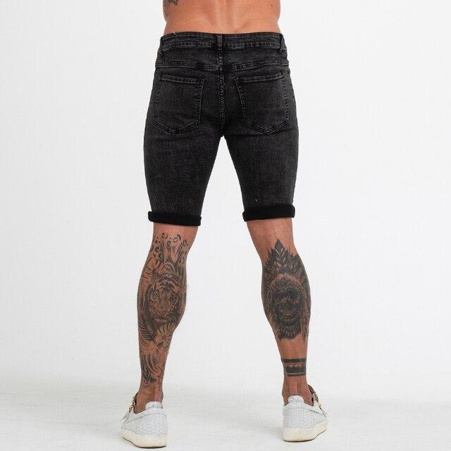 Skinny Strech Jeans Shorts  5