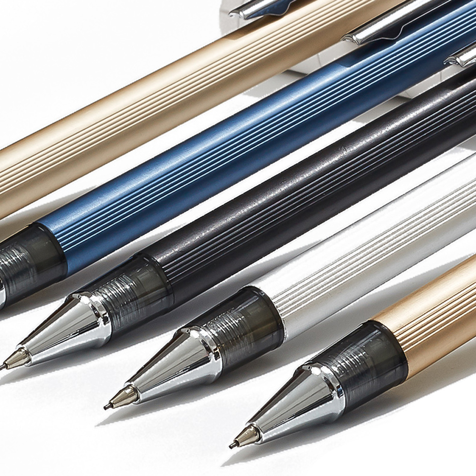 High Quality Full Metal 9800 Mechanical Pencil 0.5~0.7mm For Professional Painting And Writing School Supplies Send 2 Refills