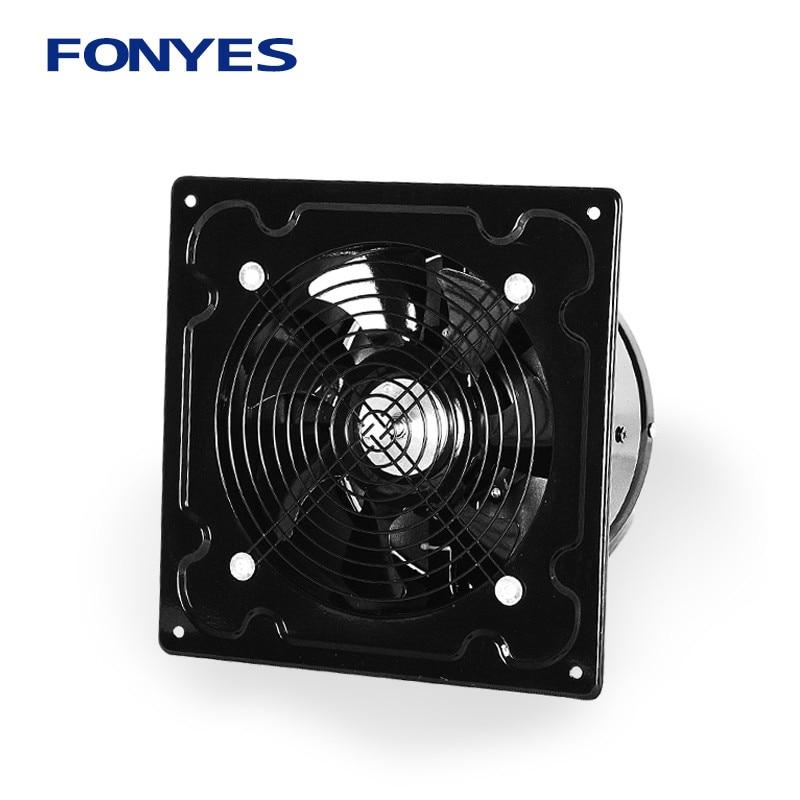 FONYES exhaust fan Kitchen fumes Exhaust fan Exhaust fan Wall type Strong high speed Ventilation fan 8 inch цена