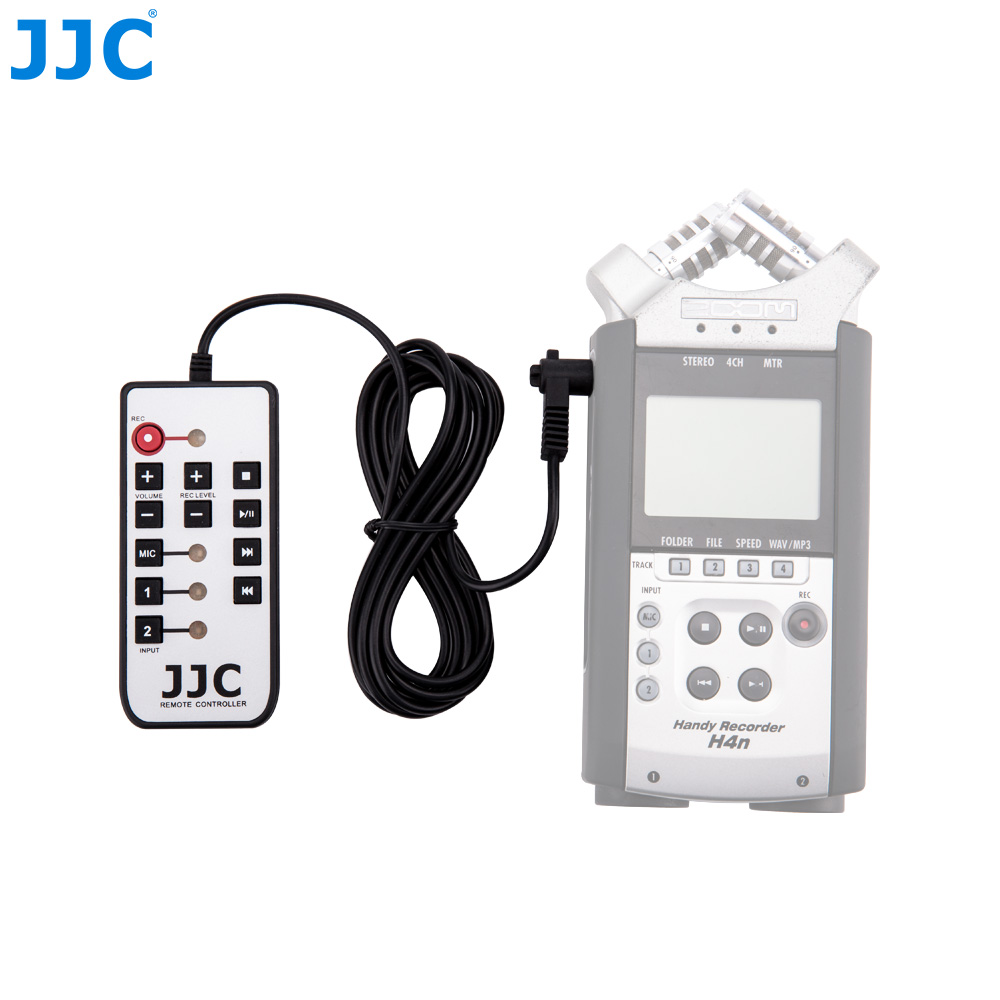 JJC Wired Recorder Remote Control For ZOOM H4N/H6/H5 Handy Record Controller Zoomer цифровой диктофон zoom h4n pro