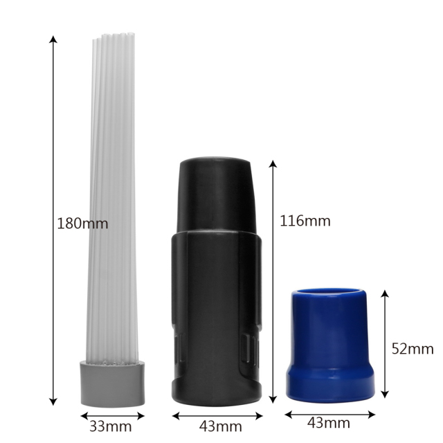 Straw Tube Dusty Brush Nozzle for Vacuum Cleaner
