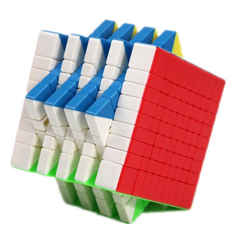 Moyu MF9 9x9 Cube 9 couches magique vitesse Cube Puzzle 9x9x9 noir sans autocollant Neo Cubo Magico9 * 9*9 éducation garçon jouets pour adultes