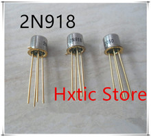 NEW 10PCS/LOT 2N918 silicon triode TO-72 Brand New Original