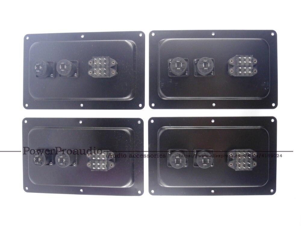 4pcs Compatible For JBL SRX725 SRX728 SRX 718 SRX 715 Back Panel W Connectors Switch Part