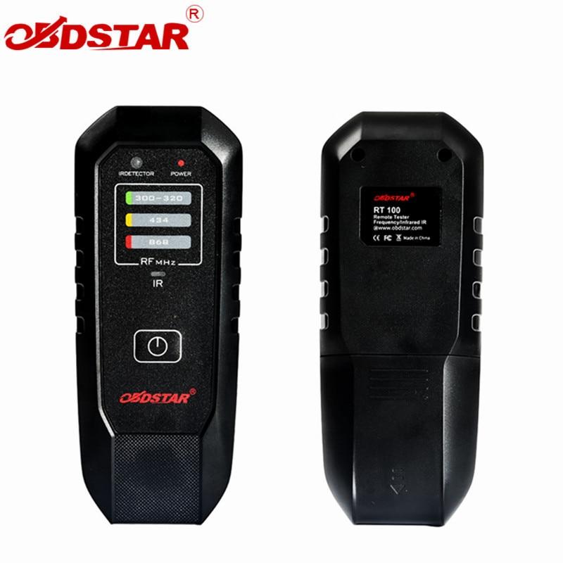 OBDSTAR RT100 дистанционный тестер частоты инфракрасный ИК RT 100For 300Mhz-320Mhz/434Mhz/868Mhz с высоким качеством