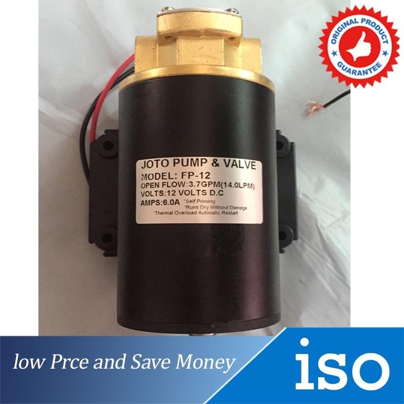 Pompe à engrenages électrique 12 V/24 V DC 12 V 12L/min pour Diesel