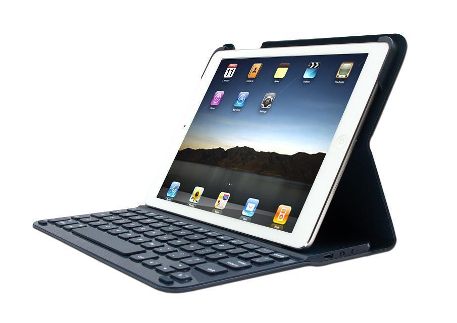 Ultrathin Logitech Style Wireless Bluetooth Keyboard Folio