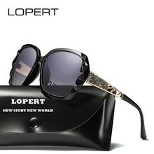 LOPERT Fashion polarized Sunglasses Women Luxury Brand Designer Glasses Driving Mirror Sun Glasses de sol feminino UV400