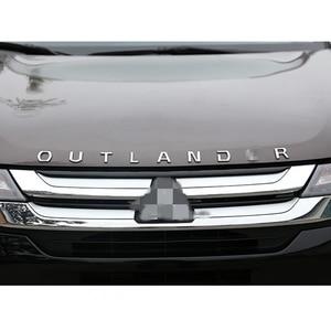 Image 5 - עבור מיצובישי הנכרי נירוסטה מתכת כרום רכב 3D מכתבי הוד סמל לוגו תג רכב מדבקת מילת מכתב אבזרים