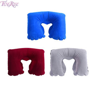 Travel Pillow Neck Inflatable Airplane Air Sleeping Car