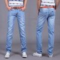 2016 Nueva moda Utr estilo Delgado hombres Al Por Menor de primavera y verano pantalones vaqueros de marca denim jeans de alta calidad de ocio casual pantalones vaqueros