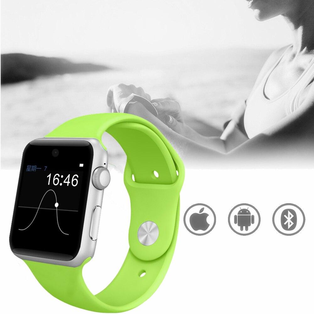 Timethinker DM09 montre intelligente hommes femmes Smartwatch Reloj Sports Relogio podomètre carte SIM montre de musique avec caméra pk A1 DZ09