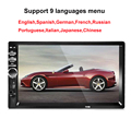 double 2 Din 7 inch 7018B Touch Screen Bluetooth autoradio Car Audio Radio Stereo MP5 Player SD MMC USB Support Rear View Camera