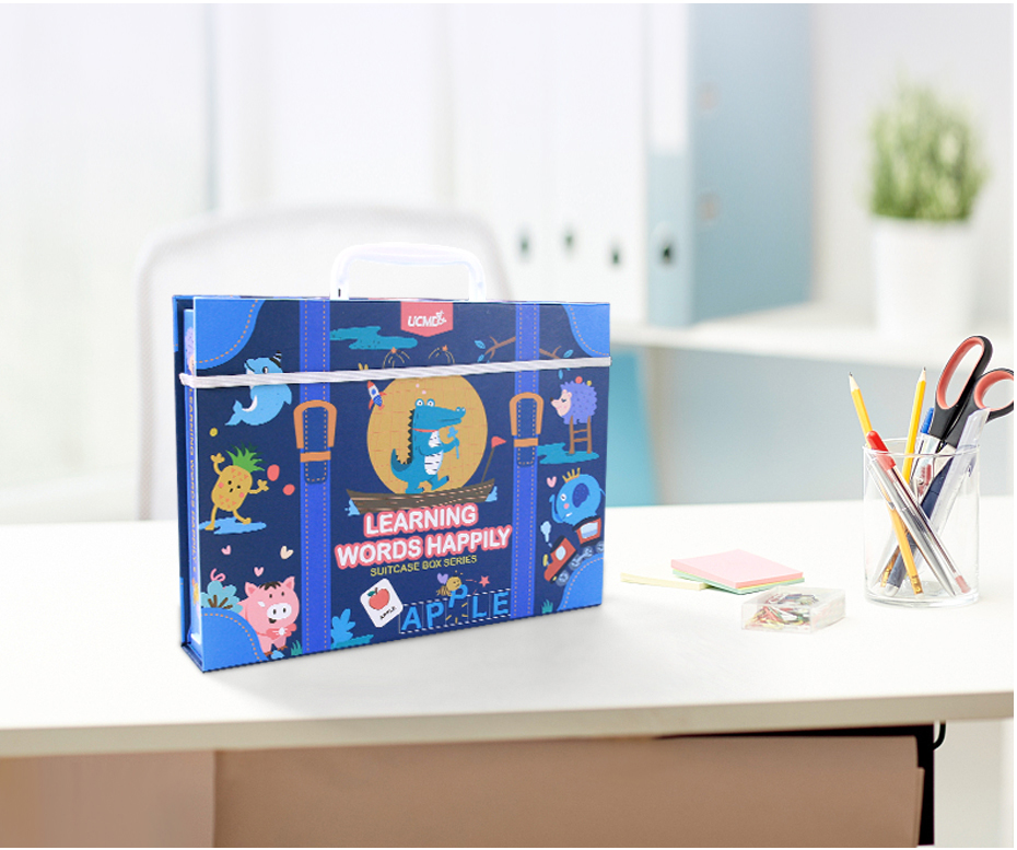 Learning English Sight Words Puzzles Card Spelling Magnetic Alphabet Letters Game Early Learning Educational Toys For kids Gifts930_26